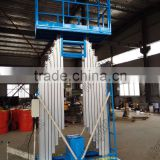 manual platform lift,aluminium lift platform made in china Hydraulic aluminium post man lift