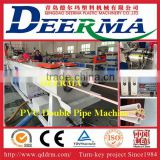 double pvc pipe extruders for sale pvc water supply pipe extruder machine plastic pvc twin pipe machine to manufacture