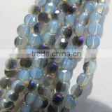 6mm Sales of color Bread crystal beads LB098