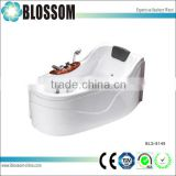 Hydro massage tubs corner bathtub jet massage whirlpool tubs                                                                         Quality Choice
