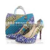 Handmade quality wholesale italian matching shoe and bag