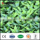 cheap indoor evergreen tree artificial grass plants decorative wall hanging
