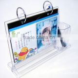 Wholesale desktop crystal customized Acrylic chinese calendar with Experienced Factory Made