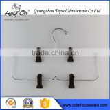 Galvanized Skirt Laundry Wire Hanger , Factory Directly Metal Wire Hangers For Dry Cleaners