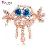 Wedding Hair Accessories Femme Barrette Lady Crystal Rhinestone Hair Clip