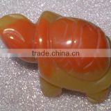 Mookiate turtle carving-semi precious stone animal carving products for gifts and home decoration