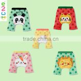 2015 Latest Cartoon Pattern Cotton Baby Harem Pants