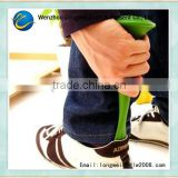 tumbler funny mini plastic shoe horn/telescopic shoehorn