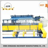 Famous brand high quality pvc coated chain link fence machinery/ diamond mesh weaving machine with low price