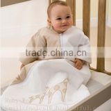 Baby sleeping bag infant sleeping bag bamboo sleeping bag cotton bamboo embroidery sleeping bag