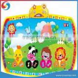Educational folding plastic play mat baby children musical carpet