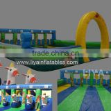 Inflatable Race Track with horse