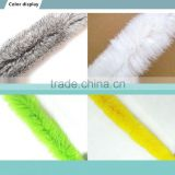 Renuine Rabbit Fur Strips For Hoodies / Animal Fur Factory