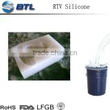 Polyurethane mold rubber for craft
