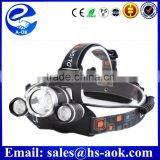Hot 5000 6000 Lumens Head Torch Light Rechargeable Zoomable Waterproof High Power Led Headlamp