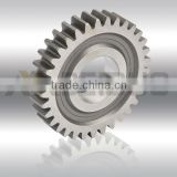 Customized crown wheel and pinion gear, crown wheel pinion, steel spur transmission Gear