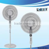 Home style 220V electric fan with purple blade for OEM oscillating stand fan with cheap price