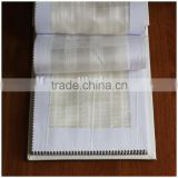 Sheer fire retardant home textile stripe fabric 2015 XJY 0254