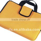 Yellow color neoprene laptop bag