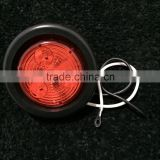 "New Design 2"" Red Round 12V Led Truck Side Marker/Clearance Light                                                                         Quality Choice"