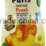 Gerber Graduates Puffs Peach 1.48-Ounce (Pack of 6)