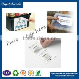 Double side waterproof paper wet wipes label