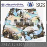 online wholesale custom OEM polyester board shorts swimwear for young boys OEM design new products 2015 low moq