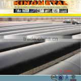 ERW bituminous epoxy paint spiral welded steel pipe