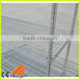 wire net shelf,wire book rack,warehouse wire storage basket