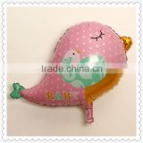 Animal shape mylar foil balloon bird shape for kids toy
