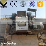 Used small jaw aggregate crusher for building materials