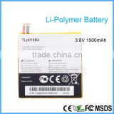 Lipo Lithium Rechargeable Used Battery Mobile Phone Low Price Batteries for Alcatel TLP018B4 3.8V 1500 mAh
