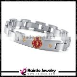 Rainso ID Bracelet Stainless Steel Jewelry Factory 2015