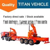 side open truck semi-trailer 40ft container lifting chain , 40ft side Open shipping container truck