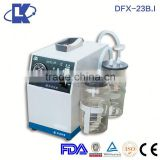 DFX-23B.I Medical Portable Vacuum Suction Device abortion suction machine electric suction machine