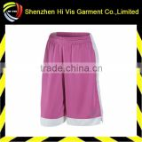 high quality custom women's basketball shorts