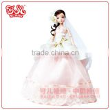 11 inch fashion wholesale bride doll gift