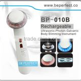 BP-010B ultrasonic and galvanic liposuction beauty equipment oxygen facial machine made in china