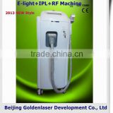 2013 New design E-light+IPL+RF machine tattooing Beauty machine professional bronze machine