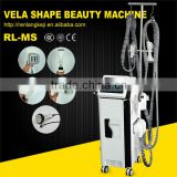 Professional Fat & Weight Loss Body Massage Vibrator Machine/Infrared Vacuum Roller Vela Shape Slimming Machine