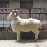 INQUIRY about Realistic Taxidermy Replica Figurine life size artificial goat model