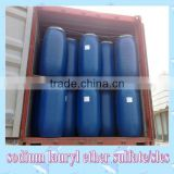 china sodium lauryl ether sulphate factory