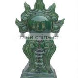 Pure handmade sculpture Chinese dragon finials and ball