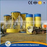sheet silo for automatic construction machine