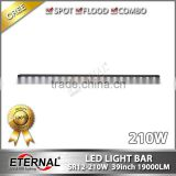 44inch 240W light bar slim high power offroad 4WD racing vehicles led work light bar roof rack lamp