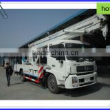 Dongfeng tail-lift truck with top quality,hydraulic platform truck,insulated bucket trucks