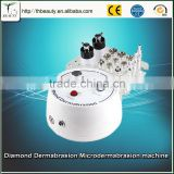 Professional diamond dermabrasion machine remove dead skin whitening black dermabrasion machine