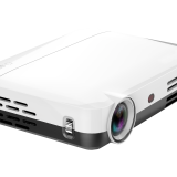 mini DLP LED Projector features an Android 4.4 OS, BT4.0 and WiFi wireless capability
