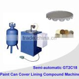 automatic pail can cover making machine