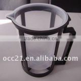 plastic paint mixing cup with holder